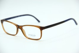 New Polo Ralph Lauren Ph 2131 5530 Brown Eyeglasses Authentic Frame Rx 52-15 - $58.90