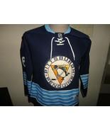 Pittsburgh Penguins #66 Mario Lemieux Sewn HockeyJersey NHL Women M Thro... - $74.24