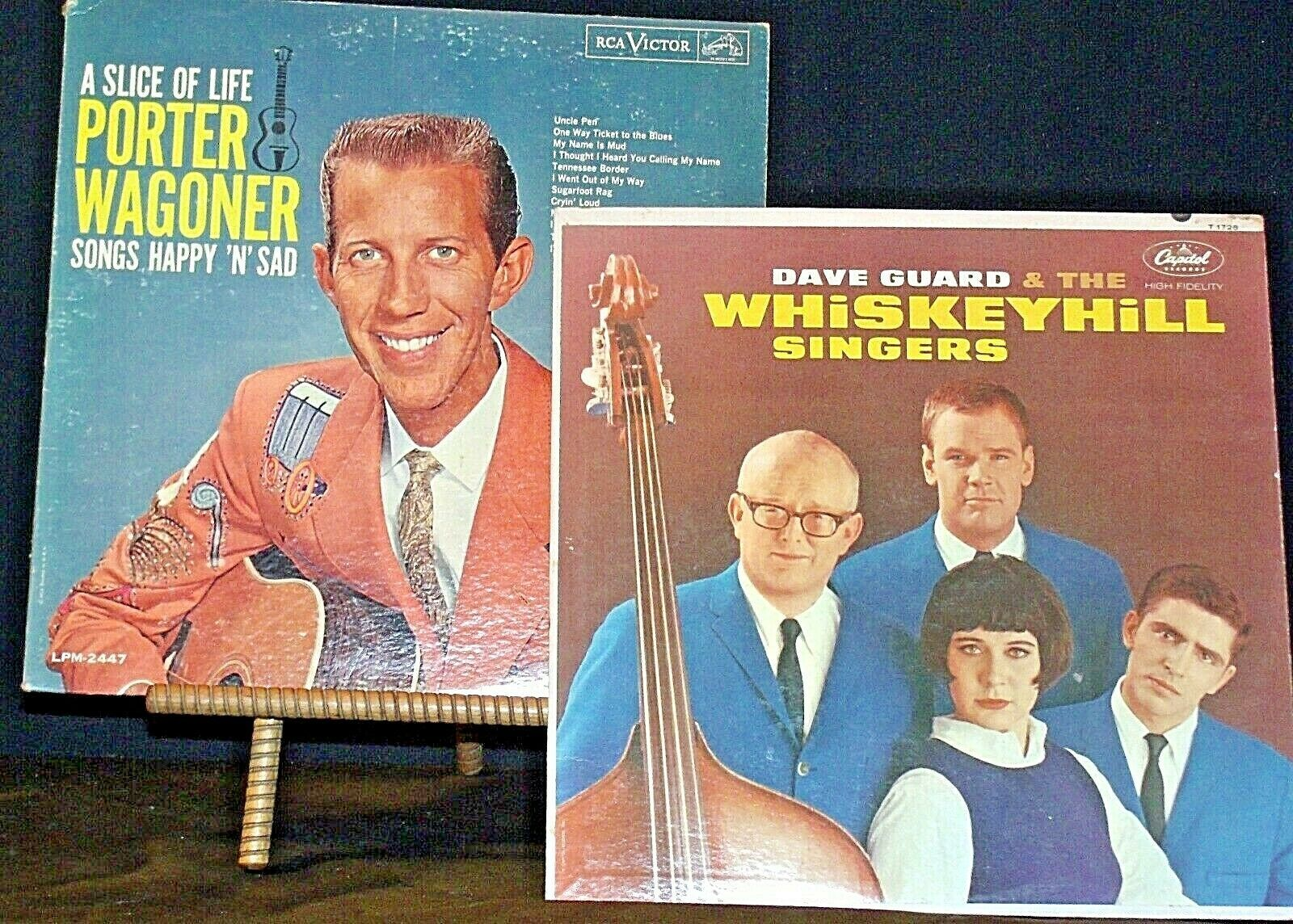 Dave Guard and the WhiskeyHill Singers and A Slice of Life Porter Wagoner AA20-R