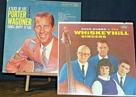 Dave Guard and the WhiskeyHill Singers and A Slice of Life Porter Wagoner AA20-R image 1