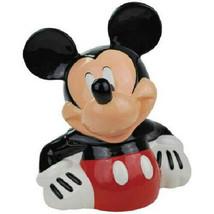 Walt Disney's Classic Mickey Mouse Figure Ceramic Cookie Jar, NEW UNUSED - $95.79