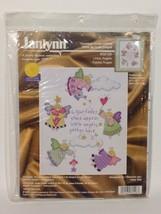 Janlynn Cross Stitch Kit Little Angels New - $22.97