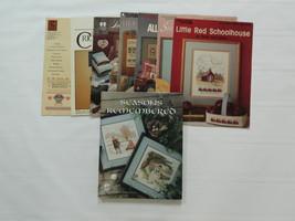 Cross Stitch Leaflet Books - Lot of 8 - Leisure Arts - $12.97