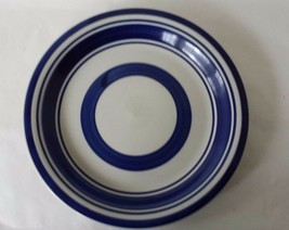 "Royal Norfolk Dinner Plate Blue Bands 10 3/4"" - $8.73"