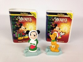 Mickey's Once Upon a Christmas Figurine Minnie ... - $11.97