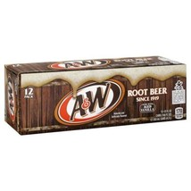 A w Root Beer 12 oz Can (24 Cans) - $27.73