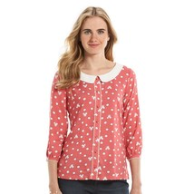 5d3f8296c0ef62 NWT LC Lauren Conrad Disney  39 s Minnie Rocks the Dots Peter Pan Collar