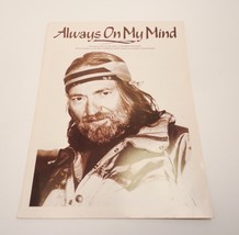 1982 Willie Nelson Always On My Mind Sheet Music Guitar Tab - $7.99
