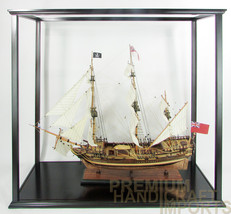 """Display case for historic ships 39"""" length - $199.00"""
