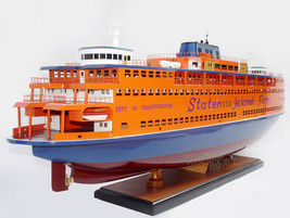 """32"""" Staten Island Ferry model ready for display - $389.00"""