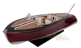 """Saetta Classic Wooden Model Boat 34"""" ready for ... - $389.00"""