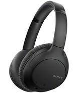 Sony - WH-CH710N/B Wireless Noise-Cancelling Over-the-Ear Headphones, Bl... - $154.98
