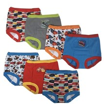 Disney Cars Boys Potty Training Pants Underwear Toddler 7-Pack Size 2T 3... - $19.99