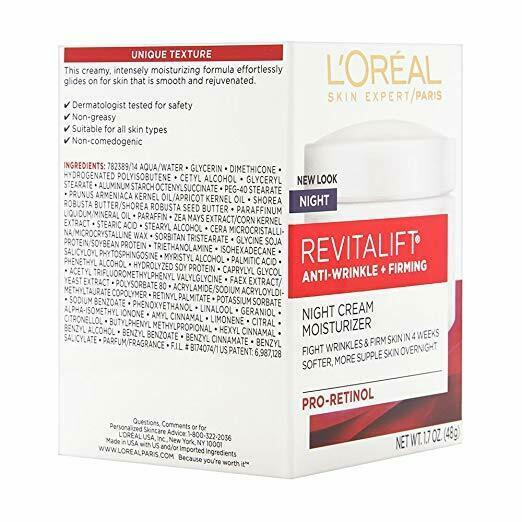 Primary image for L'Oréal RevitaLift Anti-Wrinkle + Firming Night Cream