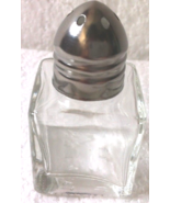 12 Pcs of Square 1/2 Oz Salt & Pepper Shaker with Clear Glass - $7.12