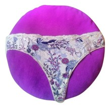 Soma Embraceable Lace Thong in Kyotop Garden Ivory ~ NWOT ~ Size XL - $12.94