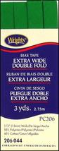 """Wrights 1/2"""" Extra Wide Double Fold bias tape PC 206 - 2 Emerald  206 044 - $5.95"""