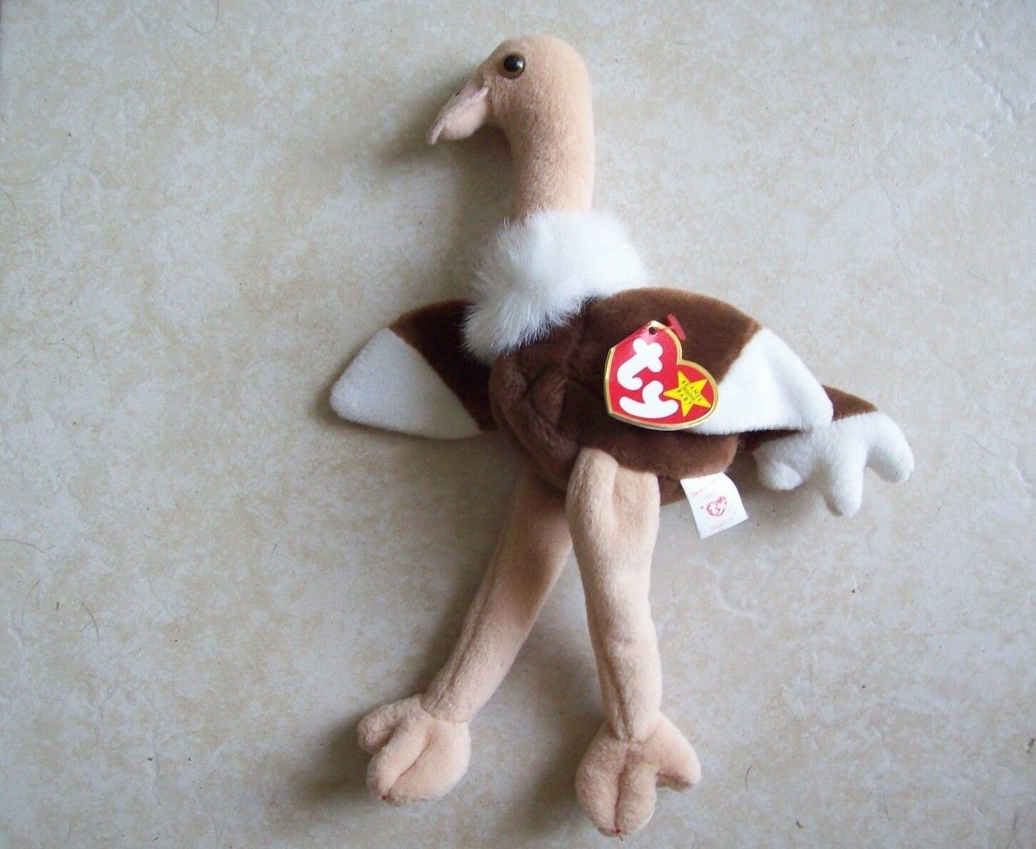 Rare Original 1997 TY Beanie Baby STRETCH with Errors + NO RED STAMP - NEW !