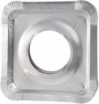 Aluminum Foil Square Gas Stove Burner Covers – Pack of 100 – Disposable ... - $21.94