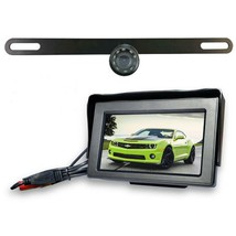 Top Dawg Wired License Plate Backup Wide Angle HD Camera - $99.99