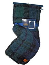 Pendleton Home Sherpa to Fleece reversible Blanket throw green & navy plaid - $120.93