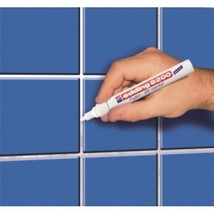 EDDING 8200 TILE GROUT MARKER WHITE - PROFESSIO... - $9.85