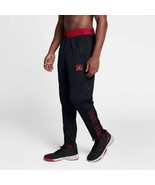 Nike Jordan Retro XI 11 Pants Rip Snap Tear-Away Black Red Bred AH1551  XL - $47.49