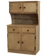 KITCHEN CABINET HUTCH - Solid Wood Toy Toddler Play Furniture Amish Hand... - $391.97
