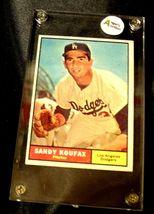 Sandy Koufax Baseball Trading Card # 344 AA19-BTC4005 Vintage Collectible image 3