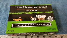 The Oregon Trail Card Game  by Pressman (complete) - $8.08