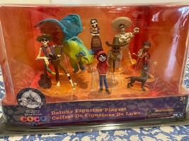 New Disney Store  Deluxe Coco Figurine Play Set - $47.93