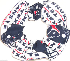 Houston Texans Hair Scrunchie Scrunchies by Sherry Tie Ponytail Holders NFL - $6.99