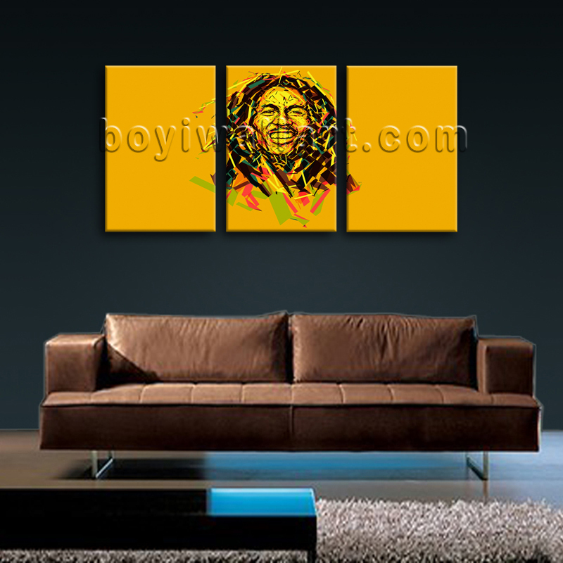 Bob marley painting giclee print music hip hop rap home for Hip home decor