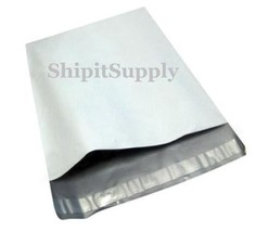 2.5 Mil 2-1000 10x13 & 12x15.5  White Poly Mailer Bags half/half Fast Sh... - $2.99+