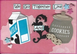 ACEO ATC Art Card Collage Original Friends We G... - $5.00
