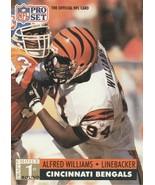 1991 Pro Set #747 Alfred Williams - $0.50