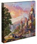 Thomas Kinkade Studios Beauty And The Beast II 14 X 14 Gallerie Verpackt... - $89.00