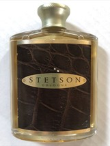 STETSON COLOGNE COTY US Men Perfume SPLASH 2.25 fl oz Glass Jar Bottle 6... - $14.85