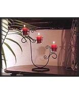 3 Votive Iron Candle Holder - $19.95