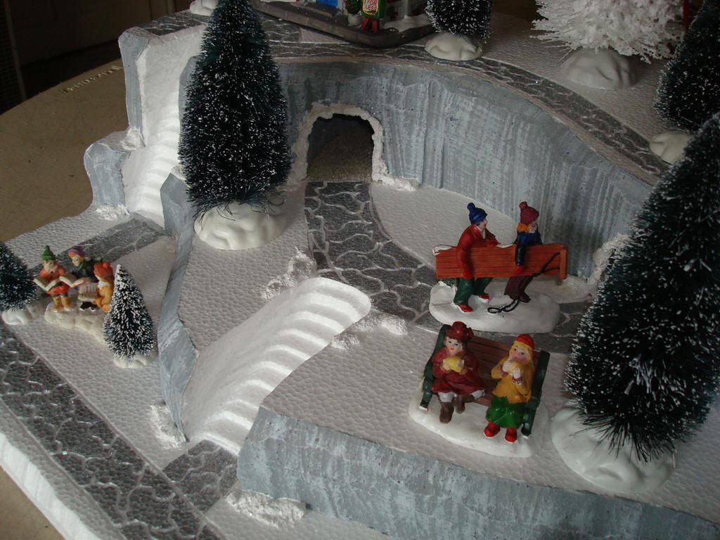 Christmas Village Platforms.Christmas Village Display Base Platform J30 And 50 Similar Items