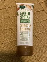 Yardley Earth Spring Moisturizibg Bidy Wash Oatmeal Almond 11 Oz - $12.14