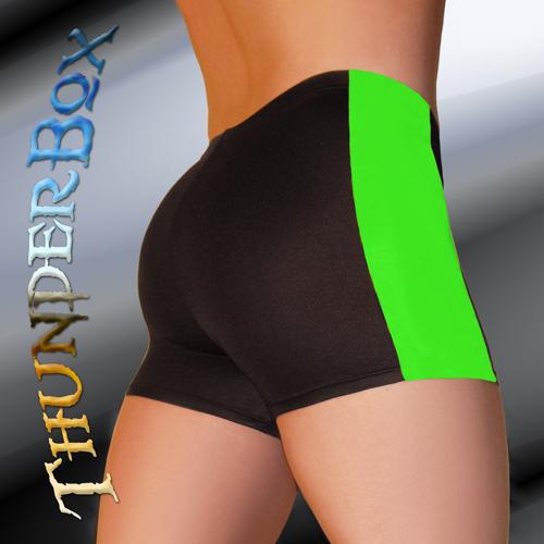 ThunderBox Nylon Spandex Choose Color & Size w/Contrast Side Stripe  S, M, L, X