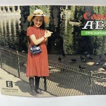 Canon AE-1 35mm SLR Film Camera Instruction Manual  - $11.25