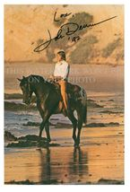 JOHN DENVER AUTOGRAPHED 6x9 RPT PHOTO AWESOME ROCKY MOUNTAIN HIGH - $14.99