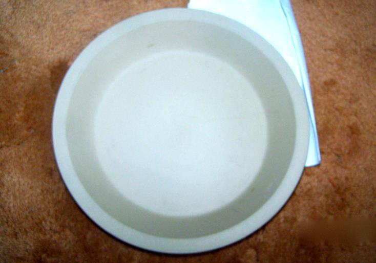 Original Cookin' Stoneware Deep Dish Pie Plate With Instructions Pampered Chef