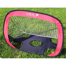 Gate Football Soccer Goals Pop Up Net Tent Kids Outdoor Play Toy - $59.84