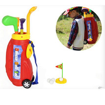 10pcs Children Kids Indoor Plastic Mini Golf Toy Set With Carrying Bag F... - $49.99