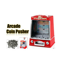 Novelty Mini Arcade Fairground Coin Pusher  Game Replica Penny Pusher Fa... - $72.44
