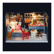 DIY Room Model Sweet Time Hand Made Model Toys Birthday Christmas Gifts - $35.69