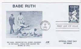 BABE RUTH #2046 CHICAGO, IL JULY 6, 1983 J:M CACHET D-681 - ₹228.14 INR